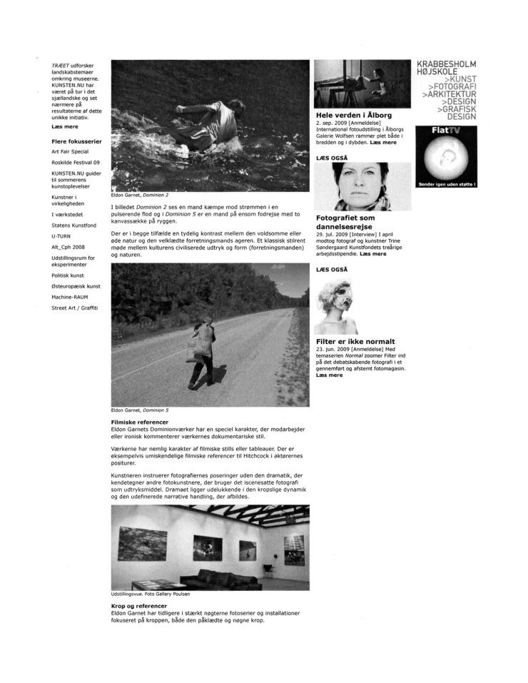 2009 (october) Business But as Modern Metaphor (danish) KUNSTEN.NU Bente Jensen 2 of 3